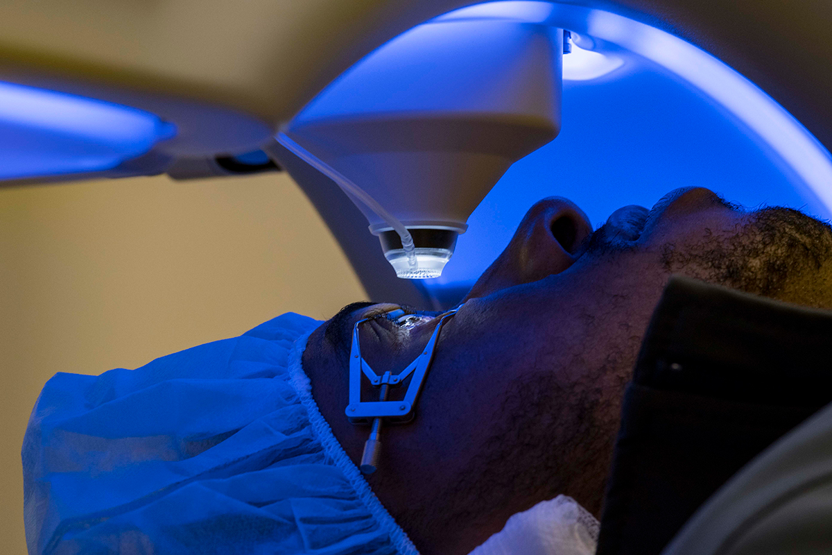 First SMILE Laser Eye Surgery Procedures for U S  Navy