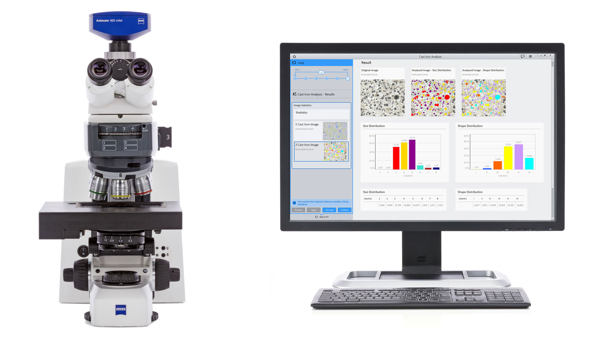 Axioscope for Materials - Microscope for Research and Routine