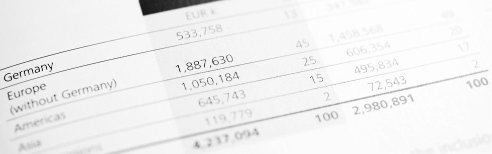 Annual report page numbers