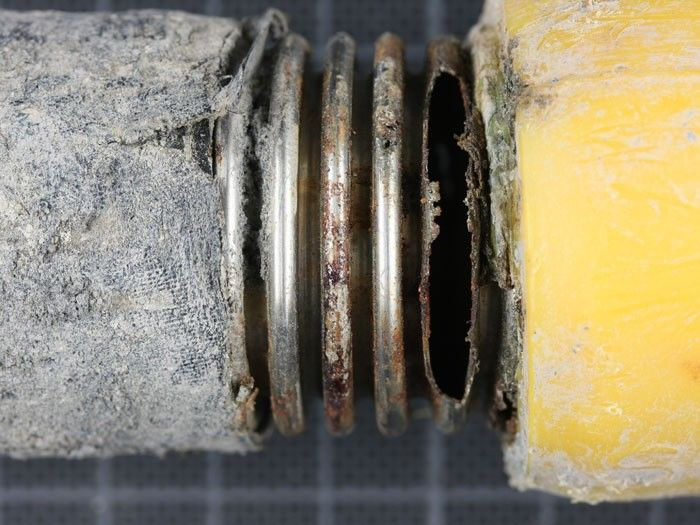 Corroded Pipe, overview