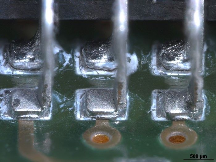 Solder points, overview